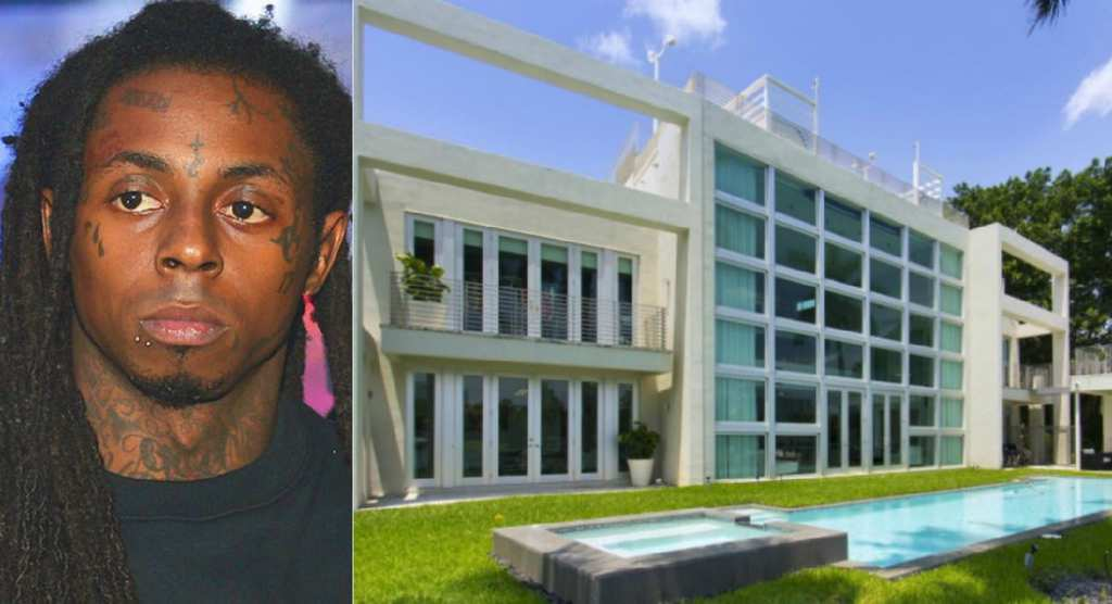 Celebrity rappers houses