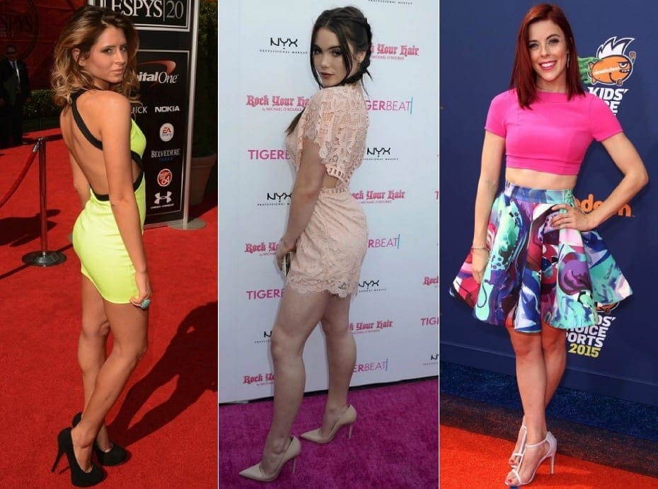 Women Athletes Show Their Outfits On The Red Carpet Social Gazette