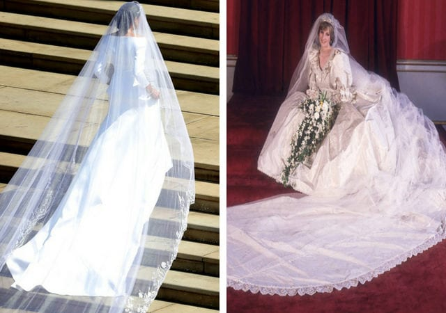 Meghan Markle Wedding Dress Back.Incredible Details Almost Everyone Missed About Meghan Markle S