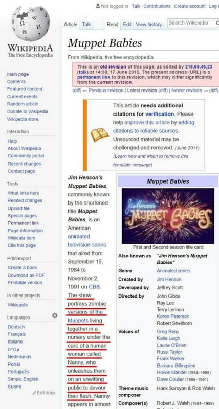 These celebrities had their Wikipedia pages vandalized, and